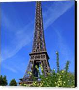 The Eiffel Tower In Spring Canvas Print