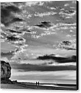 The End Of The Day, Old Hunstanton  Canvas Print