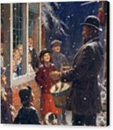 The Entertainer  Canvas Print by Percy Tarrant
