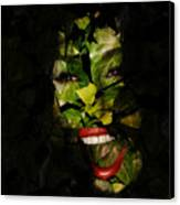 The Eyes Of Ivy Canvas Print