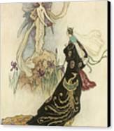 The Fairy Book Canvas Print