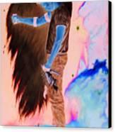 The Fallen Angel Canvas Print