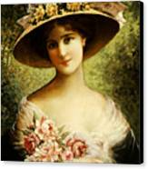 The Fancy Bonnet Canvas Print