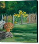 The Farm Gardens Canvas Print