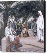 The First Shall Be The Last Canvas Print by Tissot