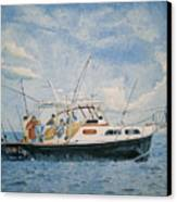 The Fishing Charter - Cape Cod Bay Canvas Print
