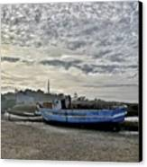 The Fixer-upper, Brancaster Staithe Canvas Print by John Edwards
