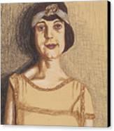 The Flapper Canvas Print