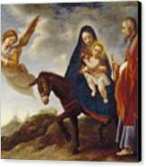 The Flight Into Egypt Canvas Print by Carlo Dolci