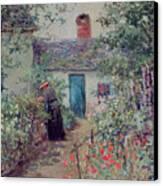 The Flower Garden Canvas Print