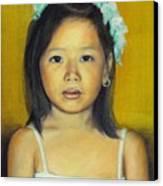 The Flower Girl Canvas Print