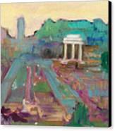 The Forum Romanum Canvas Print