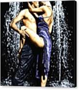 The Fountain Of Tango Canvas Print