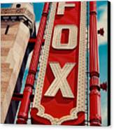 The Fox Theater Canvas Print