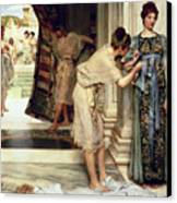The Frigidarium Canvas Print by Sir Lawrence Alma-Tadema