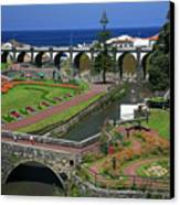 The Gardens Of Ribeira Grande Canvas Print