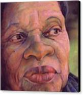 The Gaze Of Mother Witt Canvas Print by Curtis James