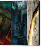The Gods Triptych 1 Canvas Print by Ken Walker