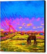 The Golden Meadow Canvas Print