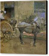 The Governess Cart Canvas Print