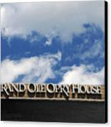 The Grand Ole Opry Nashville Tn Canvas Print by Susanne Van Hulst