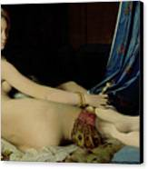 The Grande Odalisque Canvas Print