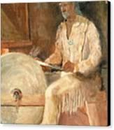 The Grinder Canvas Print