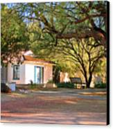 The Guest House  Canvas Print by Donna Greene