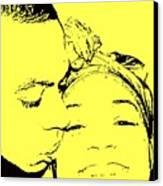 The Happy Couple  Canvas Print