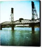 The Hawthorne Bridge Canvas Print by Cathie Tyler
