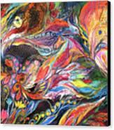 The Heat Canvas Print by Elena Kotliarker