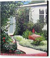 The Hidden Garden Canvas Print