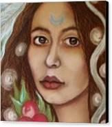 The High Priestess Canvas Print by Tammy Mae Moon
