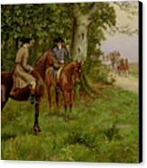 The Highwaymen Canvas Print by George Derville Rowlandson