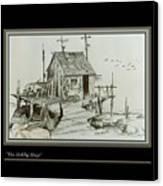 The Hobby Shop Canvas Print