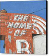 The Home Of R Canvas Print