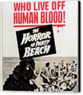 The Horror Of Party Beach, 1964 Canvas Print