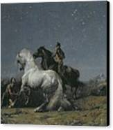 The Horse Thieves Canvas Print