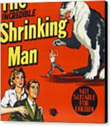The Incredible Shrinking Man, Bottom Canvas Print by Everett