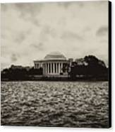 The Jefferson Memorial Canvas Print by Bill Cannon
