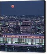 The Kennedy Center Lit Up At Night Canvas Print