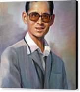 The King Bhumibol Canvas Print