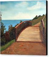 The Kissing Bridge Canvas Print