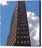 The Kollhoff-tower ...  Canvas Print by Juergen Weiss