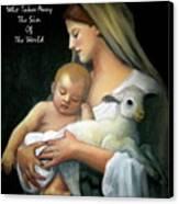 The Lamb Of God Canvas Print by Joyce Geleynse