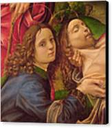 The Lamentation Of Christ Canvas Print
