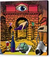 The Last Days Of Herculaneum Canvas Print