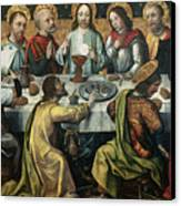 The Last Supper Canvas Print by Godefroy