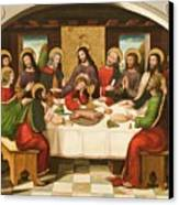 The Last Supper Canvas Print by Master of Portillo