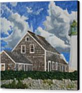 The Light Keeper's House Canvas Print